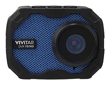 Vivitar DVR757-BLU Rugged Go Cam 4-in-1 Camera Blue