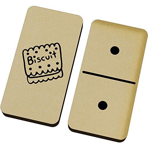 Azeeda 'Süßer Keks' Domino-Spiel und Box (DM00015552)
