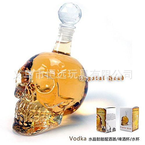 LKKLILY-The Crystal Skull schedel wijn karaf wijn 350ml.