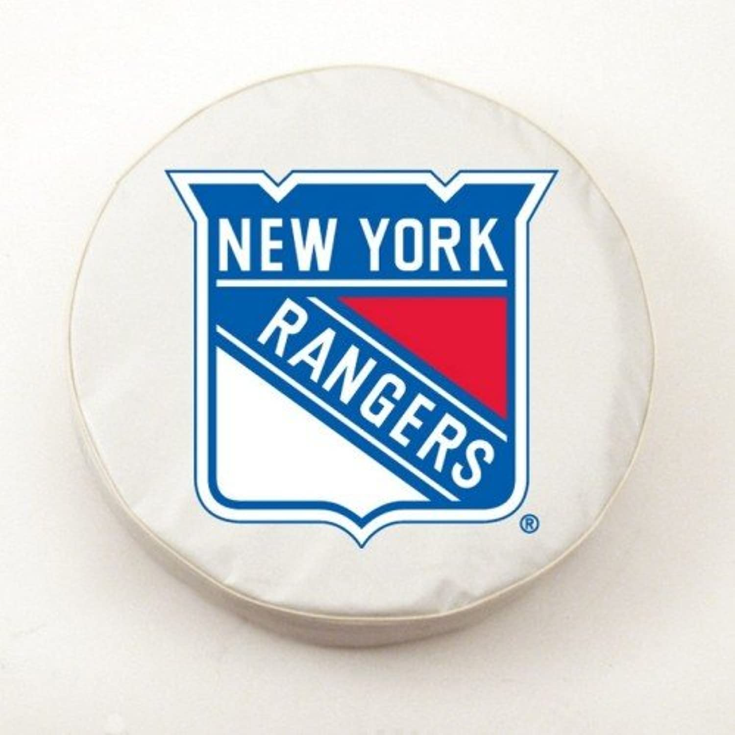 New York Rangers White Tire Cover, Small