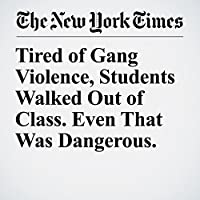 Tired of Gang Violence, Students Walked Out of Class. Even That Was Dangerous.'s image