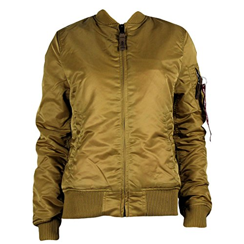 Alpha Industries Damen Fliegerjacke MA-1 VF 59 Gold