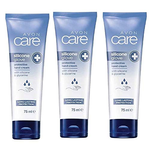 Avon Care Protective Silicone Glove Barrier Hand Cream 3 x 75ml
