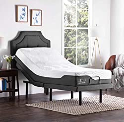 Lucid L300 Adjustable Recliner Bed With Memory Foam