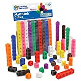 Learning Resources- Cubos Mathlink (Set de 100), Color (LER4285) , color, modelo surtido