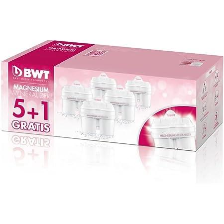 Longlife 120L Cartridge Pink 2.6 Litre with 1 x Mg2 BWT Vida Water Filter Jug