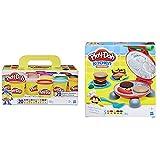 Play-Doh , Color Surtido, Pack 20 Botes (Hasbro A7924Euc) Barbacoa (Hasbro B5521Eu7) , Color/Modelo Surtido