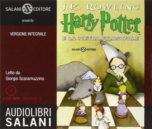 Harry Potter e la pietra filosofale letto da Giorgio Scaramuzzino. Audiolibro. 2 CD Audio formato MP3 (Vol. 1)