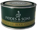 Fiddes Supreme Wax Rugger Brown - Molde para manualidades (400 ml), color marrón