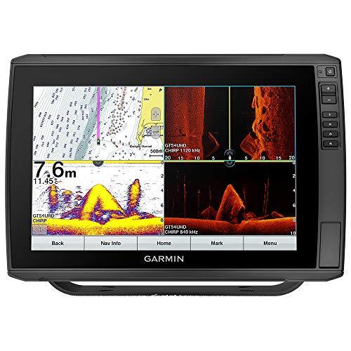 Garmin ECHOMAP Ultra 122sv, Sunlight-readable 12-inch Touchscreen Chartplotter/Sonar Combo with Worldwide Basemap