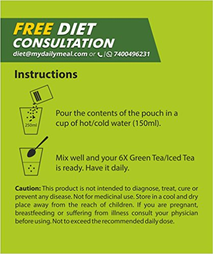 myDaily 6X Green Tea for Effective Weight Loss