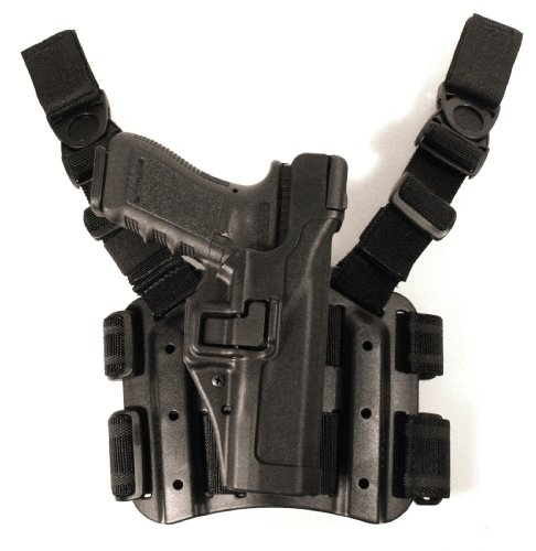 BLACKHAWK SERPA Level 3 Tactical Holster - Matte Finish