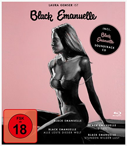 Black Emanuelle - 1-4 Box (+ CD-Soundtrack) [Blu-ray]
