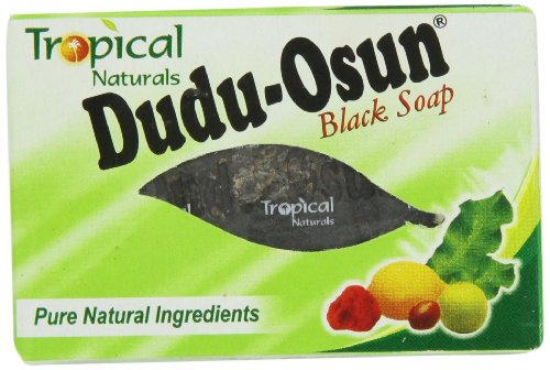 Dudu-Osun, sapone nero africano puro al 100% (etichetta in lingua italiana non garantita)