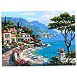 HASTHIP® Paint by Numbers Kits, DIY Oil Painting, Canvas Paint by Numbers for Kits and Adults Kids Drawing Learning Class Craft Decor Home - 16 * 20 inch