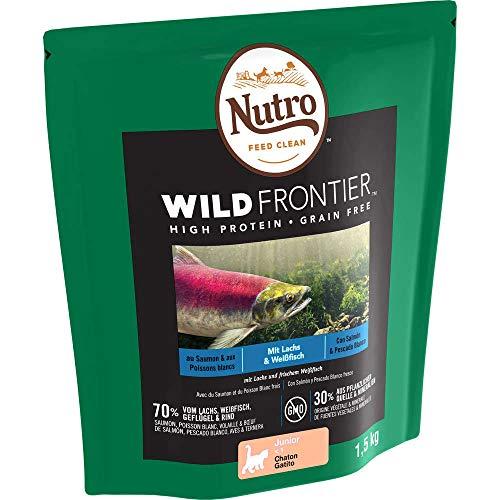 NUTRO Pienso Gatito Salmón y Pescado Blanco 1,5 kg Wild Frontier
