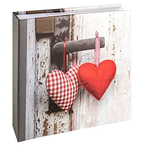 walther design Hearts II - Álbum de fotos (200 fotos de 10 x 15 cm), multicolor
