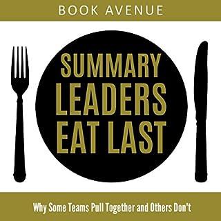 Summary of Leaders Eat Last audiobook cover art