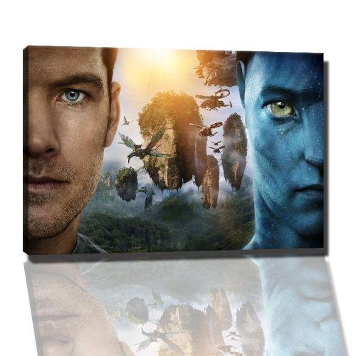 Avatar foto op canvas - 100x70 cm kant-en-klare kunstdruk afbeeldingen als muurschildering - Goedkoper dan olieverfschilderij of schilderij - GEEN poster of affiche