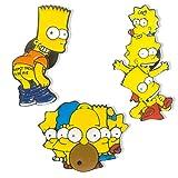 Lindo Simpsons Broche Simpsons Esmalte Pin de Solapa para Niños Mujeres Ropa Mochila Decoración...