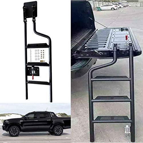 HEKA Tailgate Ladder Steel Custom Compatible Benz with Mercedes Luxury goods free