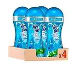 Vernel Perlas Potenciador de Perfume, Fresh Joy – Pack de 4, Total 1040 ml
