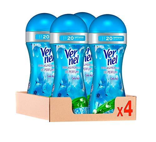 Vernel Perlas Potenciador de Perfume para la Ropa Fresh Joy – Pack de 4x230gr, Total 920 gr