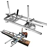 SurmountWay Portable Chainsaw Mill Planking Milling from 14' to 36'...