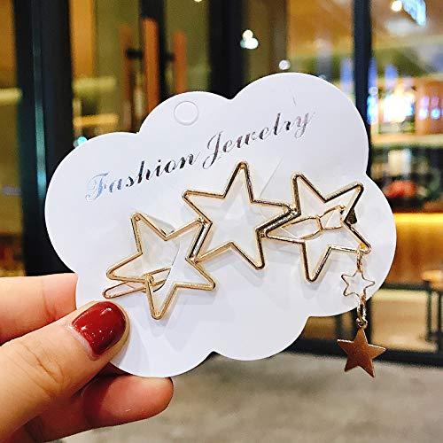 KNNSYZ Haarnadel Fashion Wild Macarons Pearl Haarnadel Bangs Boutique Kopfschmuck