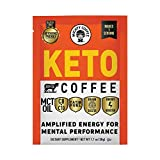 Mighty Coffee, Keto Coffee, Amplified Energy and Mental Performance, Instant Coffee Drink Mix Packet, (6 Packets per Carton), 4 Cartons