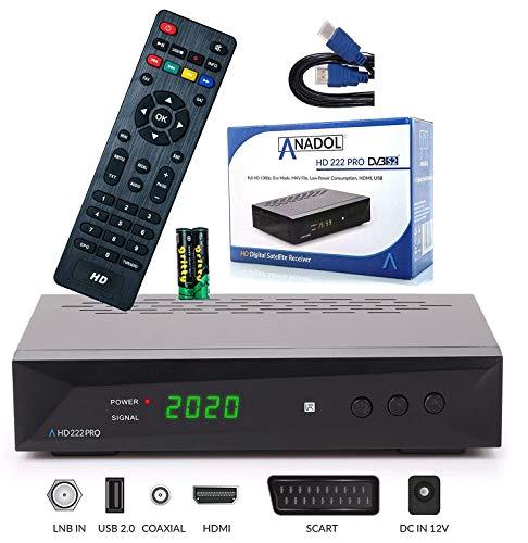 bester Test von digit isio stc 2 Anadol HD 222 Pro – PVR, Zeitverschiebung, Multimedia-Aufnahme – HDTV 1080P digitaler Satellitenempfänger…