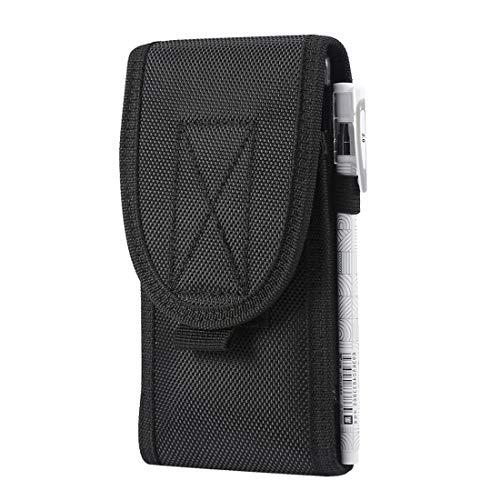 Universelle MOLLE-Tasche, Handy-Gürteltasche, Holster-Schutzhülle, Nylon-Tragetasche, S, schwarz