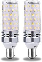 B15/B22/E12/E16/E17/E26/E27 LED Corn Light Bulb, 360 ° stralingshoek Edison Corn Lamp, 12W/16W Cool White 6000K, 1600LM, A...