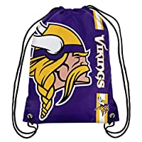 NFL Minnesota Vikings Big Logo Drawstring Backpack