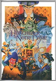 The Hunchback Of Notre Dame - Framed Disney Movie Poster / Print (Size: 27