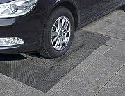 Maschengröße: ca. 12x12mm Marderschutz Gitter Marderfurcht Teppich Anti Mardergitter Größe 190 x 150cm einfache Handhabung kein Gift kein Stromverbrauch faltbar und mobil individuell zuschneidbar Materialstärke: 1,5mm