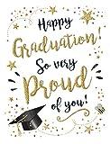 Tarjeta de graduación moderna para ocasiones – 8 x 6 pulgadas – Piccadilly Greetings