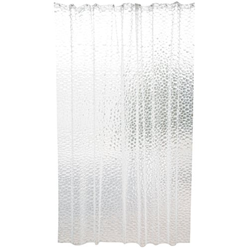 MSV Duschvorhang Premium Eva Galway 180x200cm, Polyester, Mehrfarbig, 30 x 20 x 15 cm