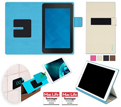 Hülle für Dell Venue 7 Tasche Cover Hülle Bumper   in Beige   Testsieger