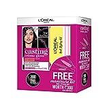 L'Oreal Paris Casting Crème Gloss Hair Colour 200 (Ebony Black) with Manicure Kit