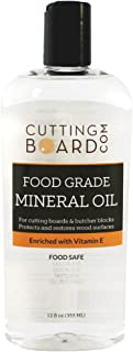 Food Grade Mineral Oil for Cutting Boards, Countertops and Butcher Blocks - Food Safe and Made in the USA