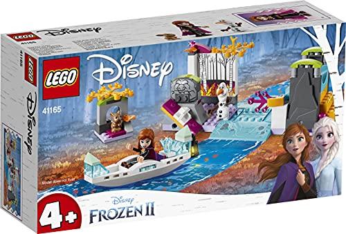 LEGO41165DisneyPrincessExpediciónenCanoadeAnnaJuguetedeConstrucción