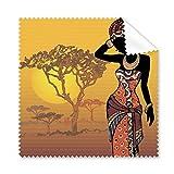 África sabana negro mujer aborigen vestidos gamuza de...