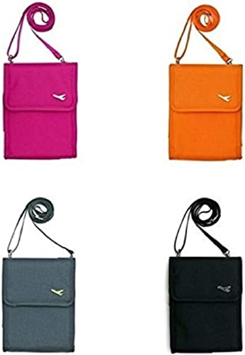 Polyester Neck Pouch and Passport Sling Bag Pouch Wallet Holder Organizer Storage for Men Women