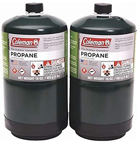 Coleman 16 Oz Propane Fuel Bottle (Pack of 2)