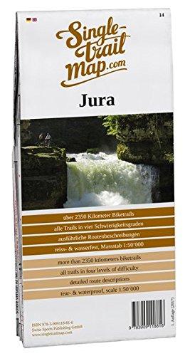 Singletrail Map 014 Jura: Das Kartenblatt Jura umfasst weite Teile des Berner Juras. Es enthält Singletrail-Highlights wie den Bözingenberg, den ... bekanntesten Mountainbike-Karten der Alpen.)