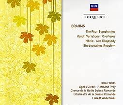 Brahms: The Four Symphonies/German Requiem