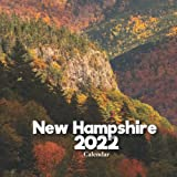New Hampshire Calendar 2022: A Monthly and Weekly 12 Months Calendar 2022 With Pictures of the New Hampshire For Desk, Office to Write in ...   Cute Gift Ideas For Men, Women, Girls, Boys