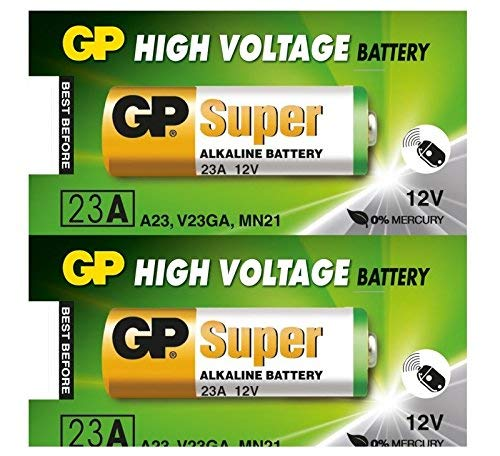 HS twin pack - GP23AE A23 12V Alkaline Batterien