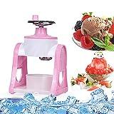 JAYI Manuelle Ice Crusher, Ice Shaver Eismaschine Tragbare Handkurbel Ice Crusher Und Rasierte Eismaschine Für Mango Smoothie/Red Bean Smoothie/Matcha Smoothie